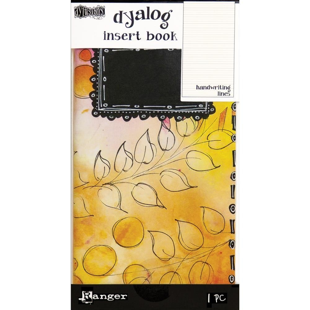 Dyan Reaveley's Dylusions Dyalog Insert Books - Handwriting Lines #2