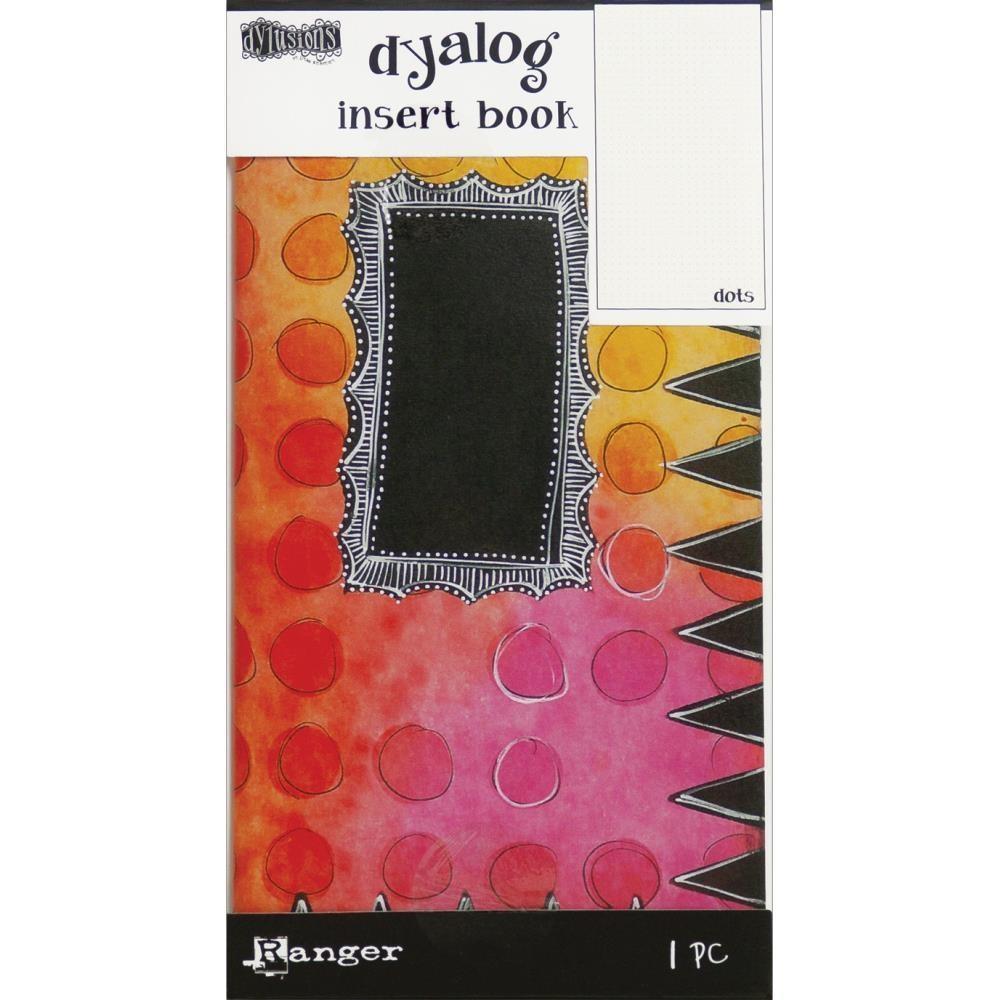 Dyan Reaveley's Dylusions Dyalog Insert Books - Dots #2