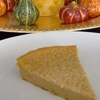 Echo's Favorite Pumpkin Custard Tart