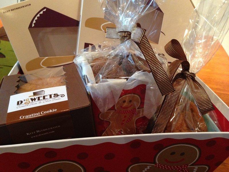 Sour Cream Coffee Cake Basket