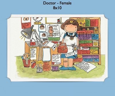 Doctor or Physician - Personalized Cartoon Gift