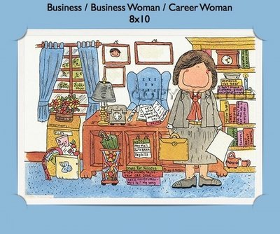 Businesswoman  - Personalized Cartoon Gift