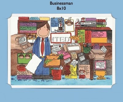 Businessman  - Personalized Cartoon Gift