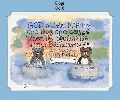 Dogs - Personalized Cartoon Gift