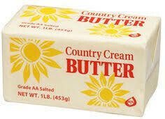 COUNTRY CREAM Butter Solid Salted AA 36/1lb