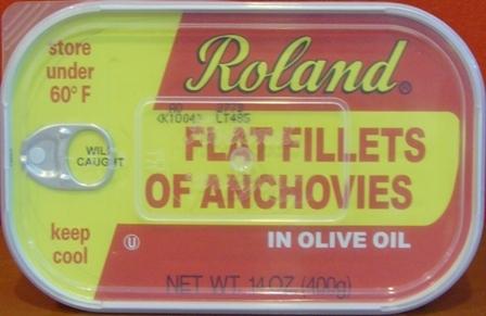 ANCHOVY FILLET IN OLIVE OIL (12/14oz)
