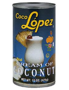 COCKTAIL MIX CREAM OF COCONUT (24/15oz)