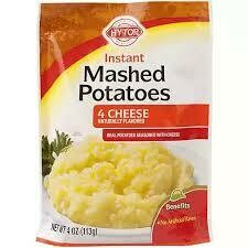 Instant Mash Potato 4-Cheese Hytop