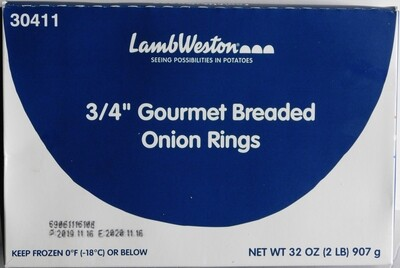 Onion Rings BRD 3/4