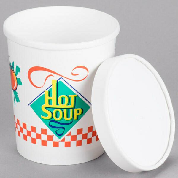 Cup Soup Paper 32oz SOLO