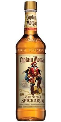 Rum Captain Morgan Original Dark Spice 1LT