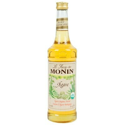 Syrup Organic Agave Nectar 6x750ml (Monin)