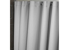 SHOWER CURTAIN FORESTER WHITE 1/1EACH