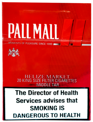PALL MALL RED 20s KRE SQ BEZ