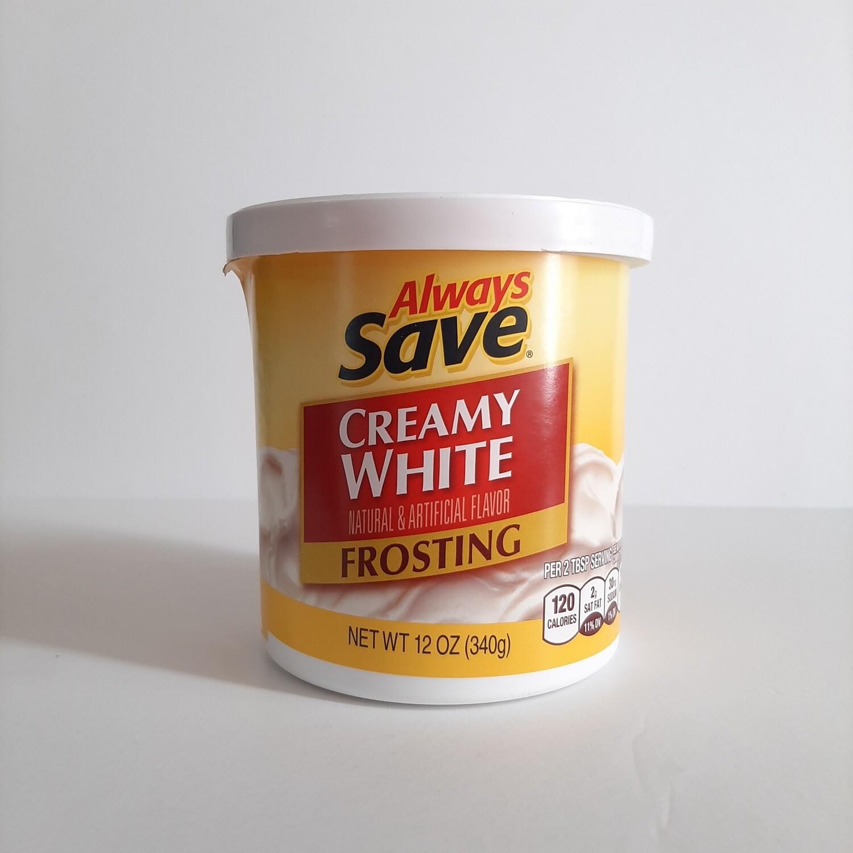 Always Save Frosting Creamy White 12oz x 12