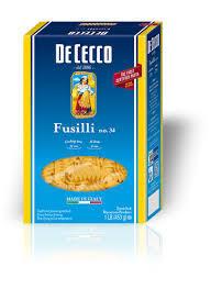 Dececco Pasta Fusilli 1 lb