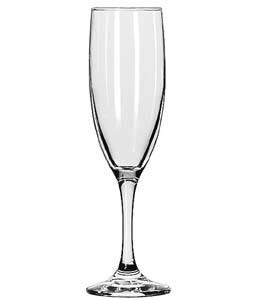 GLASS FLUTE CHAMPAGNE 12/6 OZ.
