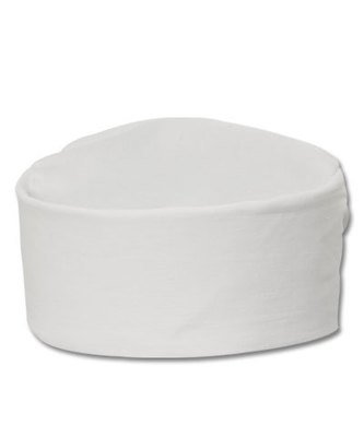 CHEF CAP SKULL WHITE 1/1CT