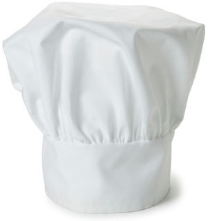 CHEF HAT WHITE 1/1EACH