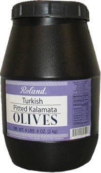 OLIVES KALAMATA PITTED TURKISH 6/4 LBS.