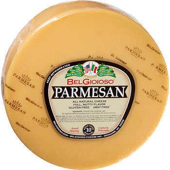 Belgioso Cheese Parmesan Wheel 1/24 lb