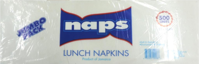 paper napkins naps (500) 4 X 500