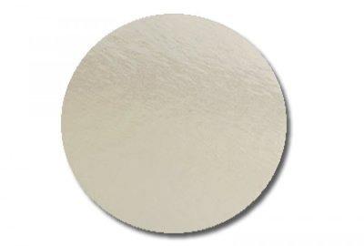 Cake Circle Silver Scallop 12