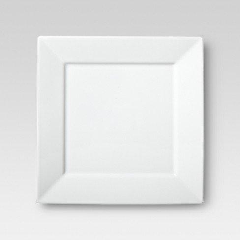 PLATE SQ WHITE 10.58