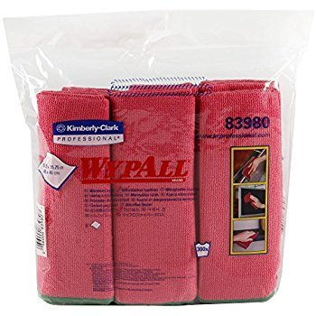 KCP CLEANING CLOTH KTECH RED