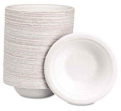 MOREX Bowl Paper 12oz White 8/125CT (6