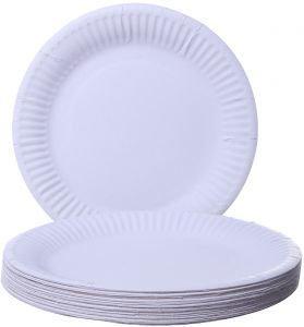 MOREX Plates Paper 8x125CT Round 7