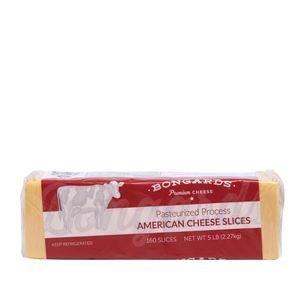 Bongards Cheese American SLC Ylw 4x5lb 160SL