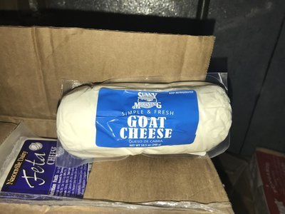 Cheese Goat Plain 12x10.5oz Global FD