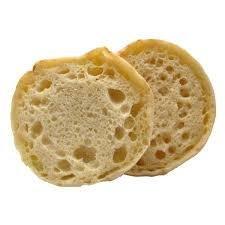 Muffin English Plain Fully Sliced 72ct 2oz