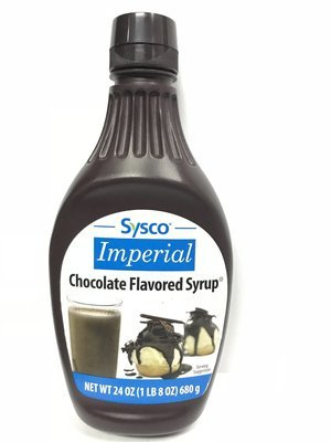 CHOCOLATE SYRUP SQUEEZE BOTTLE