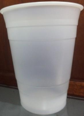 PLASTIC CUP TRANSPARENT SOFT 80/16OZ