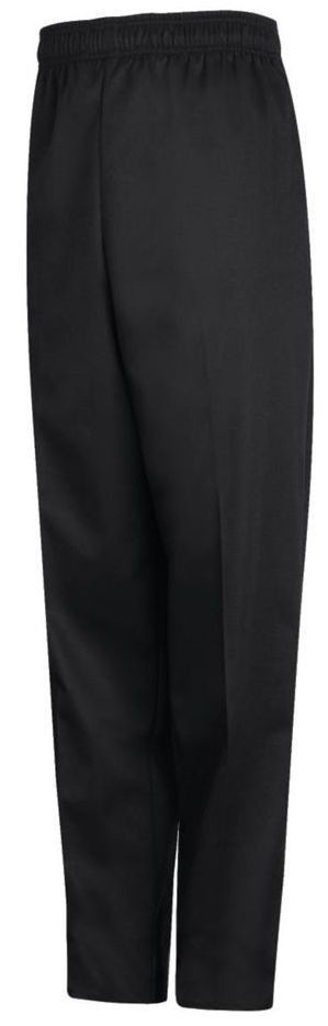 CHEF PANTS BLACK ELASTIC SMALL 1/1EACH