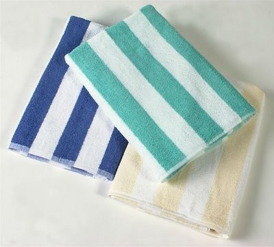 TOWEL BEACH STRIP 12/15lb