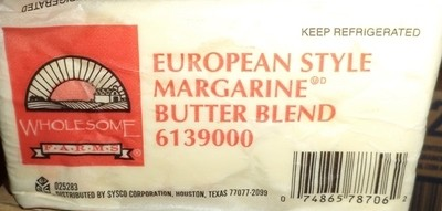 BUTTER MARGARINE EUROPE STYLE 1 LB