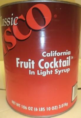 COCKTAIL FRUIT LIGHT SYRUP (6/6lb 10oz)