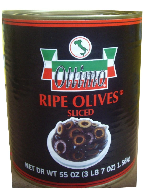 OLIVES RIPE SLICED (6/3lb 7oz)