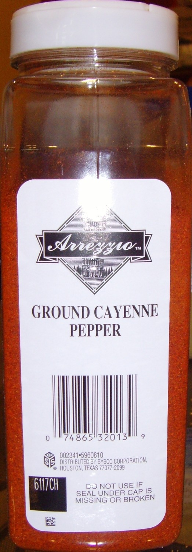 SPICE PEPPER CAYENNE GROUND 1/14OZ