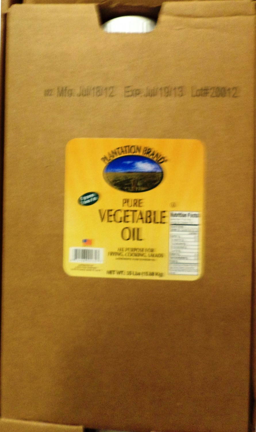 OIL VEGETABLE SOYBEAN 1/35 LBS.