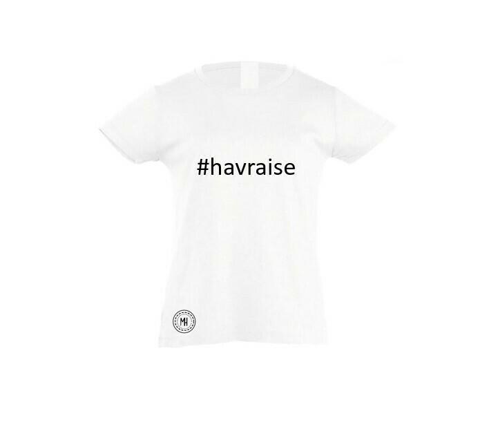 T-shirt blanc fille