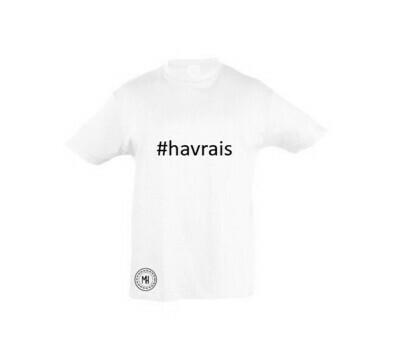 T-shirt blanc garçon