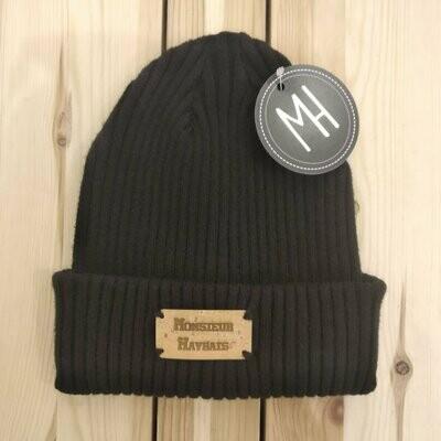 Bonnet marin noir