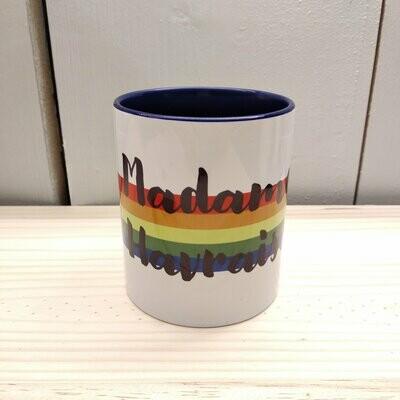 Mug bicolore finition brillante