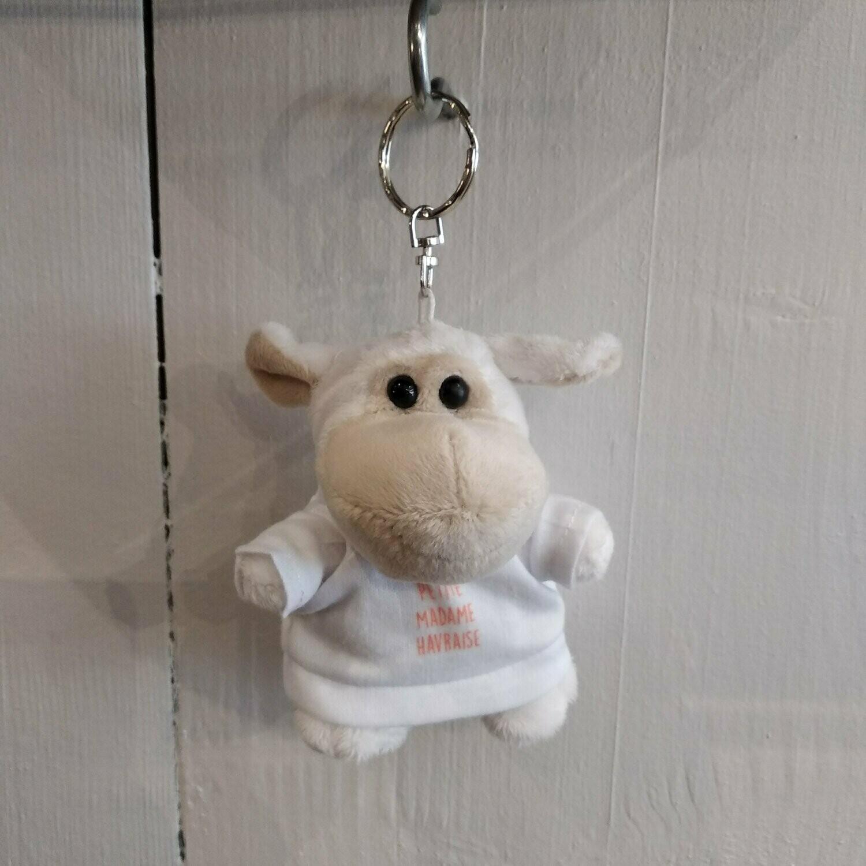 Porte-clés doudou fille