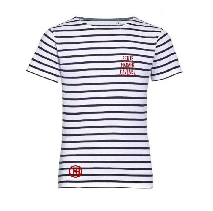 T-shirt marin Petite Madame Havraise