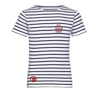 T-shirt marin Petit Monsieur Havrais